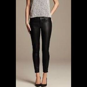 Banana Republic Sloan Faux Leather Pants